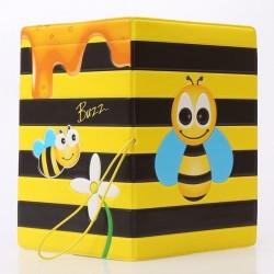 Protège-Passeport abeille