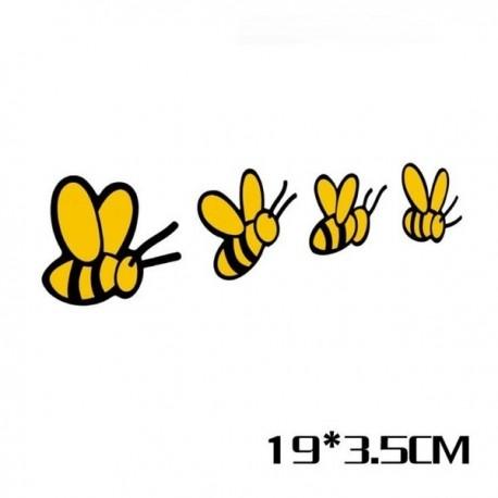 Autocollant groupe abeille
