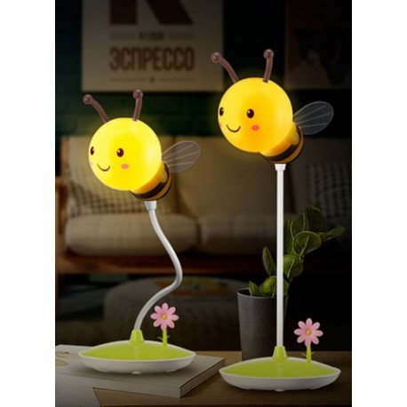 Lampe led tactile abeille jaune